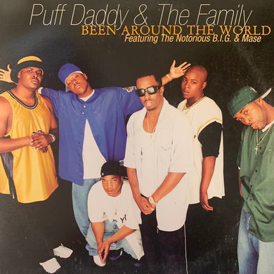 "Puff Daddy & The Family Feat The Notorious B.I.G. & Mase ""Been Around The World"" 7 Track 12inch Vinyl"