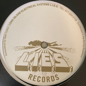 "Bookworms ""Love Triangles"" on Long Island Electrical System's L.I.E.S. Records 2 Track 12inch Vinyl"