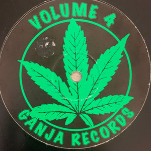 "Ganja Records Vol 4 ""Tiger Style"" / ""Mash Up Da Place"" 2 Track 12inch Vinyl"