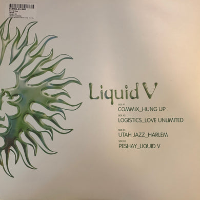Liquid V Feat Commix, Logistics, Utah Jazz and Peshay 4 Track 2 x 12inch Vinyl