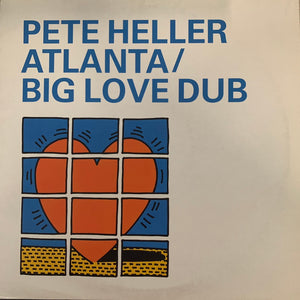 "Peter Heller ""Atlanta"" / ""Big Love Dub"" 2 Track 12inch Vinyl"