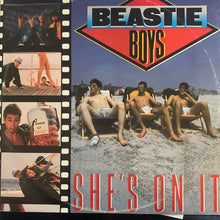 "Load image into Gallery viewer, Beastie Boys ""She's on It"" / ""Hold it, Now Hit It"" / Slow And Low"" 3 Track 12inch Vinyl"