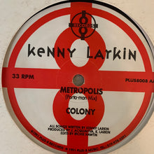 "Load image into Gallery viewer, Kenny Larkin ""Intergration"" / ""Colonize"" on Plus 8 Records 4 Track 12inch Vinyl"