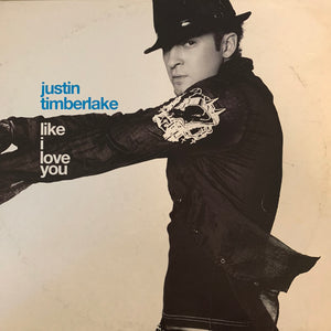"Justin Timberlake ""Like I Love You"" 3 Version 12inch Vinyl"