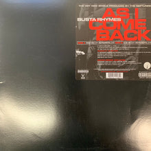 "Load image into Gallery viewer, Busta Rhymes ""As I Come Back"" 4 Track 12inch Vinyl."
