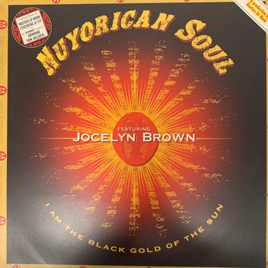 "Nuyorican Soul Feat Jocelyn Brown ""I Am The Black Gold Of The Sun"" 2 Track 12inch Vinyl"