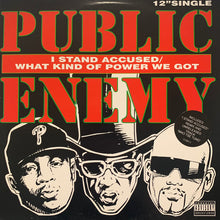 "Load image into Gallery viewer, Public Enemy ""I Stand Accused"" 4 Track 12inch Vinyl"