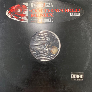 "GZA Feat D'angelo ""Cold World"" remix 5 Version 12inch Vinyl"