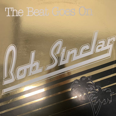 "Bob Sinclar ""The Beat Goes On"" 1 Track 12inch Vinyl"