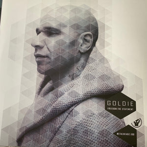 "Goldie ""Freedom"" The Statement, MetalHeadz 1 Track 12inch Vinyl"
