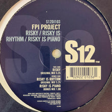 "Load image into Gallery viewer, FPI Project ""Risky"" / ""Risky is Rhythm"" / ""Risky is Piano"" 3 Track 12inch Vinyl"