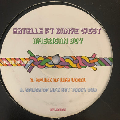"Estelle Feat Kanye West ""American Boy"" The House Music Mixes 2 Track 12inch Vinyl"