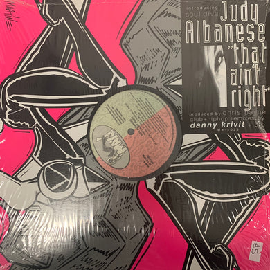 "Judy Albanese ""That Ain't Right"" 6 Track 12inch Vinyl"