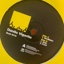 "Load image into Gallery viewer, Danilo Vigorito ""Ventilator"" 3 Track 12inch Vinyl"