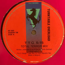 "Load image into Gallery viewer, Turntable Overload ""TTO"" Total Terror Mix / ""TTO"" Anal Bucket Mix 2 Track 12inch Vinyl"