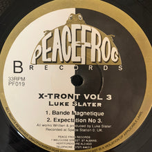 Load image into Gallery viewer, Luke Slater 'X-Tront Vol 3' Ep 3 Track 12inch Vinyl