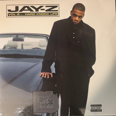 "Jay-Z 'Vol 2 Hard Knock Life"" Factory Sealed 14 Track 2 X Vinyl Lp"