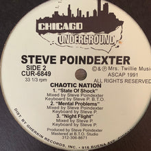 "Load image into Gallery viewer, Steve Poindexter 'Chaotic Nation' Ep ""Happy Stick"" 6 Track 12inch Vinyl"