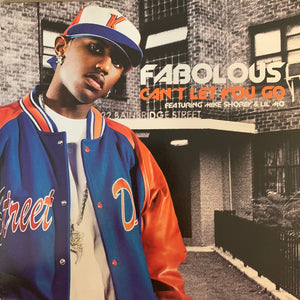 "Fabolous ""Can't Let You Go"" 3 Version 12inch Vinyl"