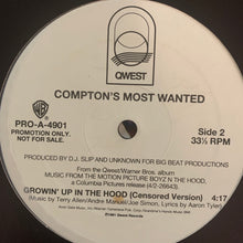 "Load image into Gallery viewer, Comptons Most Wanted ""Growin' Up In The Hood"" 2 Version 12inch Vinyl"