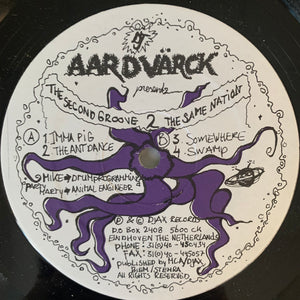 DJ Aardvark 'The 2nd Groove 2 The Same Nation' Ep 4 Track 12inch Vinyl