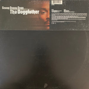 "Snoop Doggy Dogg ""Tha Doggfather"" 4 Track 12inch Vinyl"