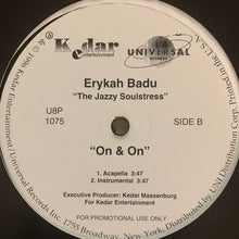 "Load image into Gallery viewer, Erykah Badu ""On & On"" 4 Version 12inch Vinyl"