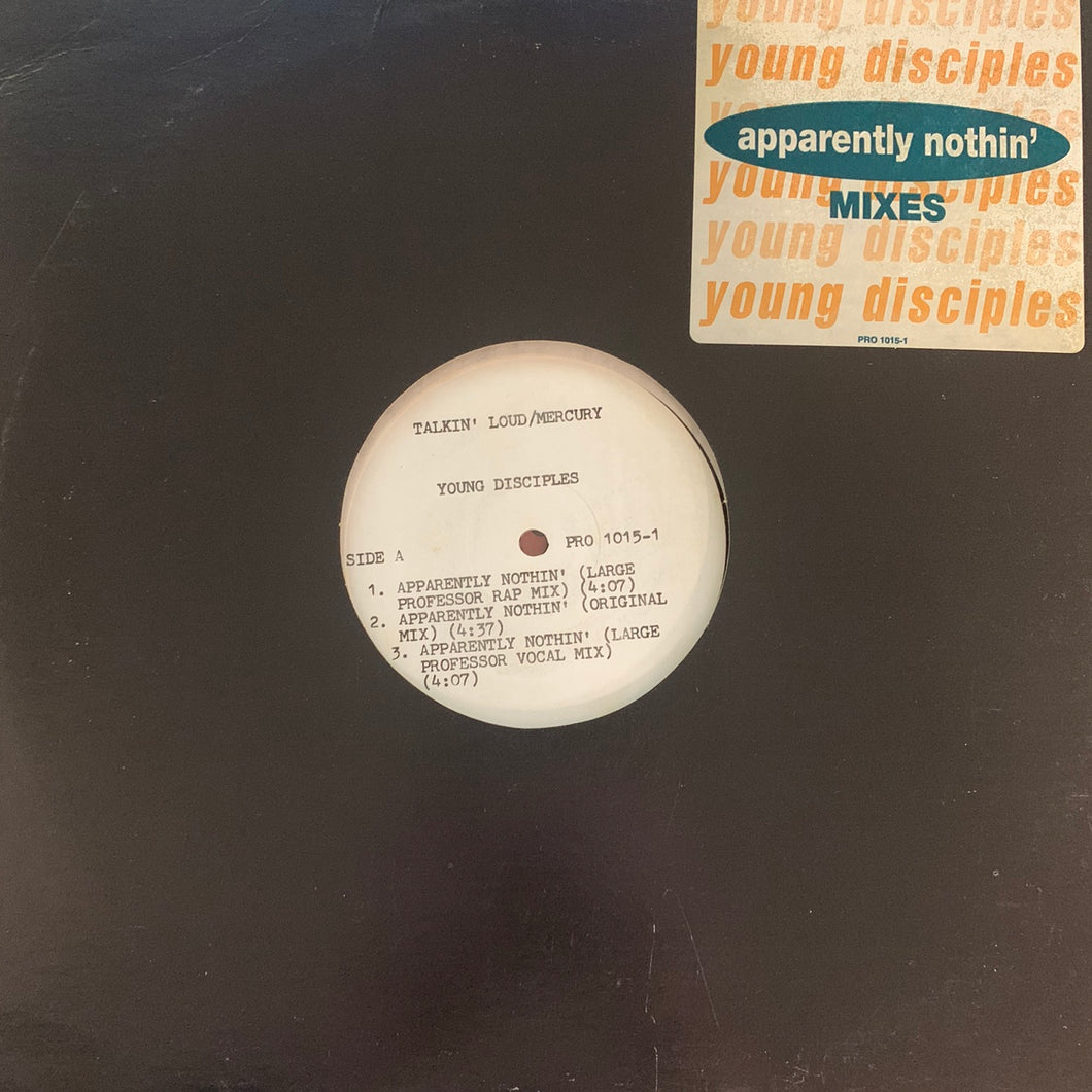 "Young Disciples ""Apparently Nothin"" 6 Version 12inch Vinyl"