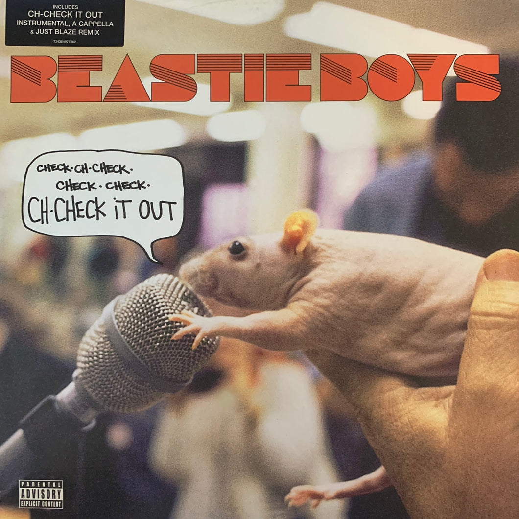 "Beastie Boys ""Ch-Check It Out"" 4 version 12inch Vinyl"