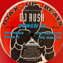 Load image into Gallery viewer, DJ Rush 'Punch It' ep 4 Track 12inch Vinyl Single on DJAX Records Track
