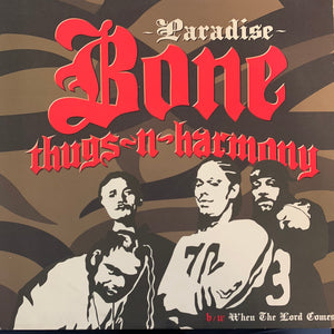 "Bone Thugs-N-Harmony ""Paradise"" / ""When The Lord Comes"" 3 Track 12inch Vinyl"