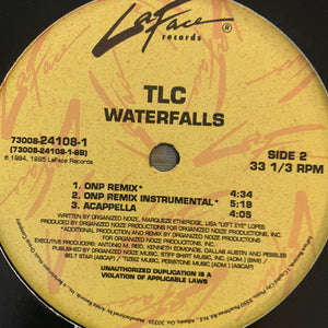 "TLC ""Waterfalls"" 6 version 12inch Vinyl"
