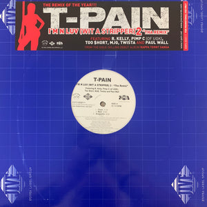"T-Pain ""I'm in Luv Wit A Stripper"" 6 Version 12inch Vinyl"