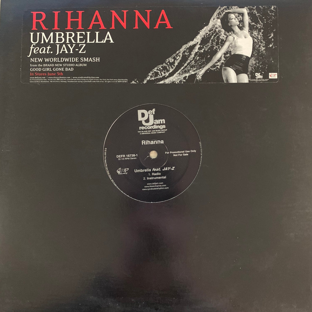 "Rihanna Feat Jay-Z ""Umbrella"" 4 Version 12inch Vinyl"