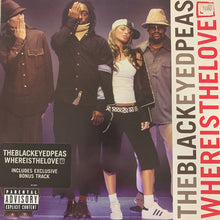 "Load image into Gallery viewer, Black Eyed Peas ""Where Is The Love"" 3 Track 12inch Vinyl"