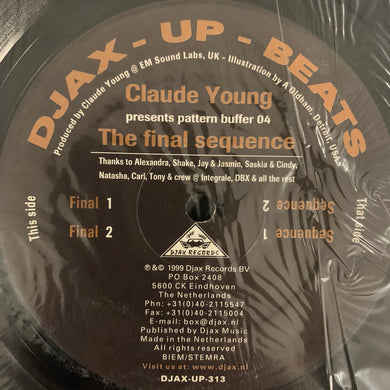 Claude Young Presents Pattern Buffer 04 'The Final Sequence' EP 4 Track 12inch Vinyl
