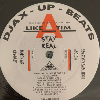 Like A Tim 'Stay Real' 8 Track 12inch Double Pack