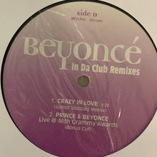 Load image into Gallery viewer, Beyoncé' In Da Club' Remixes 6 Track 12inch Vinyl