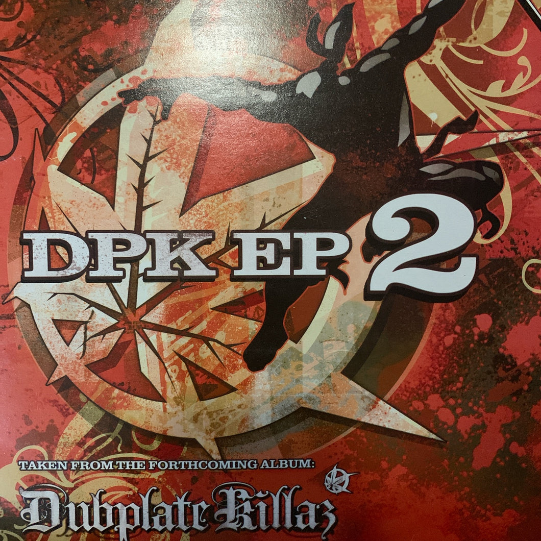 Dubplate Killaz DPK EP 2 DJ Hype DJ Hazard 4 Track 12inch Vinyl Double Pack