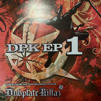 Dubplate Killaz DPK EP 1 DJ Hype DJ Hazard 4 Track 12inch Vinyl Double Pack