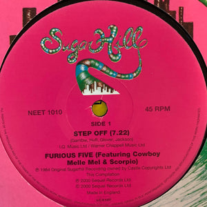 "Furious Five Feat Cowboy Melle Mel ""Step Off"" 2 Track 12inch Vinyl"