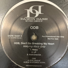 "Load image into Gallery viewer, ODB Old Dirty Bastard ""ODB, Don't Go Breaking My Heart"""