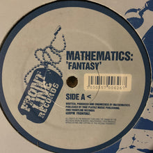 "Load image into Gallery viewer, Mathematics ""Fantasy"" 2 Track 12inch Vinyl"