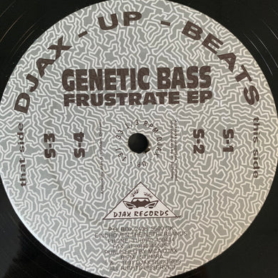 "Genetic Bass"" Frustrate"" Ep 4 Track 12inch Vinyl"