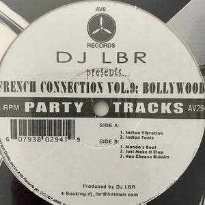 Dj LBR French Connection Vol 9 Bollywood Breaks