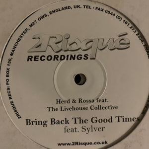 "Miami Sampler 2002 Herd & Rossa Feat The Livehouse Collective ""Runaway Girl"" / ""Bring Back The Good Times"" and more 2 x 12inch Double Pack"