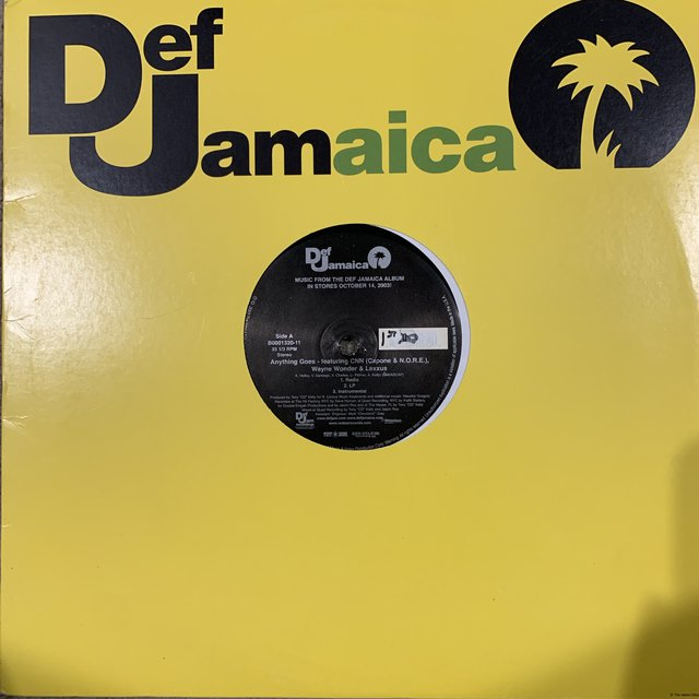Def Jamaica Anything Goes Feat Capone & N.O.R.E. Wayne Wonder & Lexxus / Top Shotter Feat DMX Sean Paul & Mr Vegas