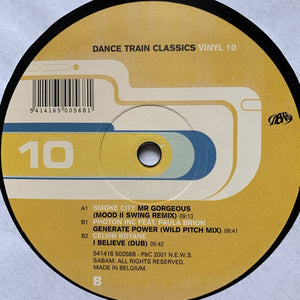 Dance Train Classics Vol 10 Feat Smoke City, Photon INC, Celvin Rotana