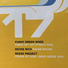 Load image into Gallery viewer, Dance Train Classics Vol 17 Feat Funky Green Dogs, Richie Rich, Reese Project