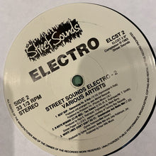 Load image into Gallery viewer, Electro 2 Street Sounds Re issue 7 Track LP Hip Hop Electro